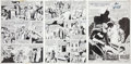 Original Comic Art:Panel Pages, Jose Delbo and Joe Giella Detective Comics Batgirl PageOriginal Art Group (DC, 1981).... (Total: 11 Items)