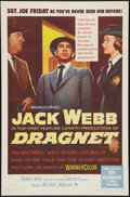 """Movie Posters:Crime, Dragnet (Warner Brothers, 1954). One Sheet (27"""" X 41""""). Crime.. ..."""