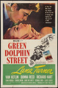 "Movie Posters:Adventure, Green Dolphin Street (MGM, R-1955). One Sheet (27"" X 41"").Adventure.. ..."