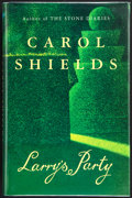 Books:First Editions, Carol Shields. Larry's Party. London: Fourth Estate[Limited], [1997]. First U.K. edition. Publisher's original bind...