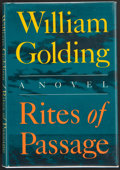 Books:First Editions, William Golding. Rites of Passage. New York: Farrar StrausGiroux, 1980. First edition. Publisher's original binding...