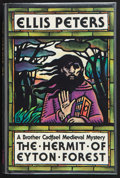 Books:First Editions, Ellis Peters. The Hermit of Eyton Forest. New York LondonTokyo: The Mysterious Press, [1988]. First edition. Publis...
