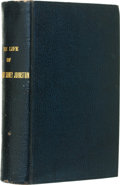 Books:First Editions, William Preston Johnston. The Life of Gen. Albert SidneyJohnston. New York: D. Appleton and Company, 1878. First ed...