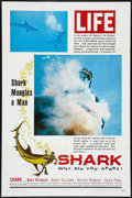 "Movie Posters:Adventure, Shark! (Excelsior, 1969). One Sheets (2) (27"" X 41"") Styles A &B. Adventure.. ... (Total: 2 Items)"