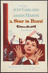 """A Star Is Born (Warner Brothers, 1954). One Sheet (27"""" X 41""""). Musical"""