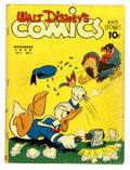 Golden Age (1938-1955):Cartoon Character, Walt Disney's Comics and Stories #2 (Dell, 1940) Condition: GD....