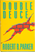 Books:Signed Editions, Robert B. Parker. Double Deuce. New York: G. P. Putnam's Sons, [1992]. Inscribed and signed by the author on the t...