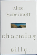 Books:Signed Editions, Alice McDermott. Charming Billy. New York: Farrar, Straus and Giroux, [1998]. First edition. Signed and dated by t...