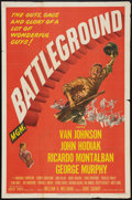 "Movie Posters:War, Battleground (MGM, 1949). One Sheet (27"" X 41""). War.. ..."