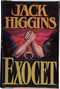 Books:First Editions, Jack Higgins. Exocet. New York: Stein and Day Publishers,[1983]. First edition. Publisher's original binding and du...