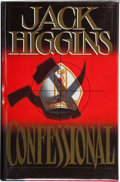 Books:First Editions, Jack Higgins. Confessional. New York: Stein and DayPublishers, [1985]. First edition. Publisher's original binding ...