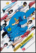 "Movie Posters:Animated, Yellow Submarine (United Artists, R-2000s). Polish Gallery Poster(27"" X 39""). Animated.. ..."