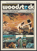 "Movie Posters:Rock and Roll, Woodstock (Warner Brothers, 1970). Japanese Program (8 Pages, 10"" X14.25""). Rock and Roll.. ..."
