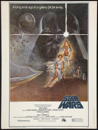 "Star Wars (20th Century Fox, 1977). Poster (30"" X 40""). Science Fiction"