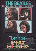 "Movie Posters:Rock and Roll, Let It Be (United Artists, 1970). Japanese B2 (20.25"" X 28.5"").Rock and Roll.. ..."