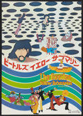 "Movie Posters:Animated, Yellow Submarine (United Artists, 1969). Japanese B2 (20"" X 28.5"").Animated.. ..."
