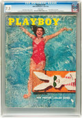 Magazines:Vintage, Playboy V3#6 (HMH Publishing, 1956) CGC VF- 7.5 White pages....