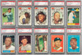 Baseball Cards:Lots, 1961 Topps Baseball PSA-Graded Collection (82) With Many Stars andHoFers!...