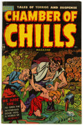 Golden Age (1938-1955):Horror, Chamber of Chills #23 (#3) (Harvey, 1951) Condition: FN-....