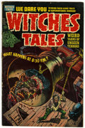 Golden Age (1938-1955):Horror, Witches Tales #25 (Harvey, 1954) Condition: VG+....