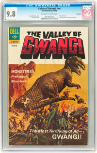 Movie Classics Valley of Gwangi #nn File Copy (Dell, 1969) CGC NM/MT 9.8 Off-white to white pages