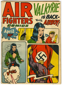 Air Fighters Comics V2#7 (Hillman Fall, 1944) Condition: VG