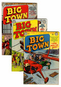 Golden Age (1938-1955):Crime, Big Town #10, 14, and 26 Group (DC, 1951-54).... (Total: 3 Comic Books)