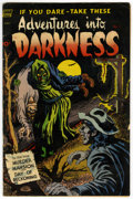 Golden Age (1938-1955):Horror, Adventures Into Darkness #5 (Standard, 1952) Condition: FN-....