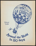 "Movie Posters:Adventure, Around the World in 80 Days (United Artists, 22 December 1956).Premiere Party Program and Menu (Multiple Pages) (10"" X 13"")..."