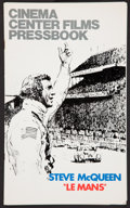 """Movie Posters:Sports, Le Mans Lot (National General, 1971). Pressbooks (2) (Multiple Pages, 8.5"""" X 14""""). Sports.. ... (Total: 2 Items)"""