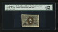 Fractional Currency:Second Issue, Fr. 1247 10¢ Second Issue PMG Uncirculated 62.. ...