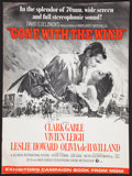 "Movie Posters:Academy Award Winners, Gone with the Wind (MGM, R-1967). Pressbook (Multiple Pages) (14"" X19""). Academy Award Winners.. ..."