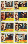 "Movie Posters:Drama, On the Waterfront (Columbia, 1954). Lobby Card Set of 8 (11"" X14""). Drama.. ... (Total: 8 Items)"