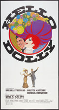 "Movie Posters:Musical, Hello, Dolly! (20th Century Fox, 1969). Three Sheet (41"" X 81"").Musical.. ..."