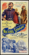 """Movie Posters:Adventure, The Soldier and the Lady (Bell Pictures, R-1945). Three Sheet (41""""X 81"""") Also Known As """"Michael Strogoff."""" Adventure.. ..."""