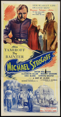 """The Soldier and the Lady (Bell Pictures, R-1945). Three Sheet (41"""" X 81"""") Also Known As """"Michael Strogoff..."""