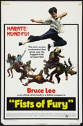 "Movie Posters:Action, Fists of Fury Lot (National General, 1973). One Sheets (2) (27"" X41""). Action.. ... (Total: 2 Items)"