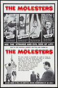 "Movie Posters:Crime, The Molesters (Aristocrat Films, 1964). One Sheet (27"" X 41""). Crime.. ..."