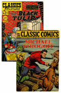 Golden Age (1938-1955):Classics Illustrated, Classic Comics #28 and 73 First Editions Group (Gilberton, 1946-50).... (Total: 2 Comic Books)