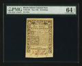 Colonial Notes:Rhode Island, Rhode Island May 1786 40s PMG Choice Uncirculated 64 EPQ.. ...