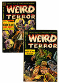 Golden Age (1938-1955):Horror, Weird Terror #11 and 12 Group (Comic Media, 1954).... (Total: 2Comic Books)