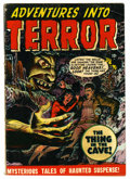 Golden Age (1938-1955):Horror, Adventures Into Terror #43 (#1) (Atlas, 1950) Condition: VG+....