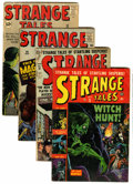 Golden Age (1938-1955):Science Fiction, Strange Tales Group (Atlas, 1953-62) Condition: Average VG-....(Total: 4 Comic Books)
