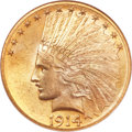 Indian Eagles, 1914-D $10 MS65 NGC....