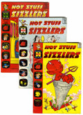 Silver Age (1956-1969):Humor, Hot Stuff Sizzlers File Copy Group (Harvey, 1961-74) Condition: Average VF/NM.... (Total: 51 Comic Books)