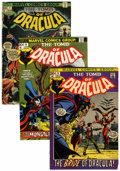 Bronze Age (1970-1979):Horror, Tomb of Dracula Box Lot (Marvel, 1972-92) Condition: Average VG....