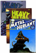 Magazines:Science-Fiction, Heavy Metal Box Lot (HM Communications, 1978-85) Condition: AverageFN+.... (Total: 55 Comic Books)
