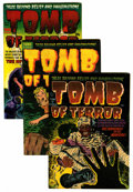 Golden Age (1938-1955):Horror, Tomb of Terror #5, 7, and 8 Group (Harvey, 1952-53) Condition:Average FN/VF.... (Total: 3 Comic Books)