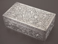Silver & Vertu:Hollowware, A CHINESE EXPORT SILVER DOUBLE CIGARETTE BOX . Luen Wo, Shanghai, China, circa 1875-1925 . Marks: LUEN WO, (shop mark). ... (Total: 2 Items)