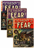 Golden Age (1938-1955):Horror, Haunt of Fear #13, 19, and 25 Group (EC, 1952-54).... (Total: 3Comic Books)